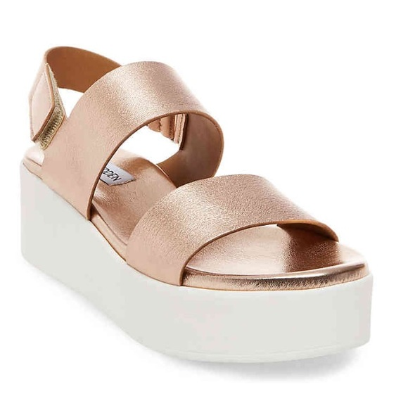 13530df6e09 Steve Madden Shoes - Steve Madden Platforms- Rose Gold